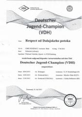 Deutscher Jugend Champion VDH